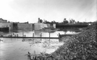 Historic Photograph of Lock and Dam Number 4 dated June 14, 1913