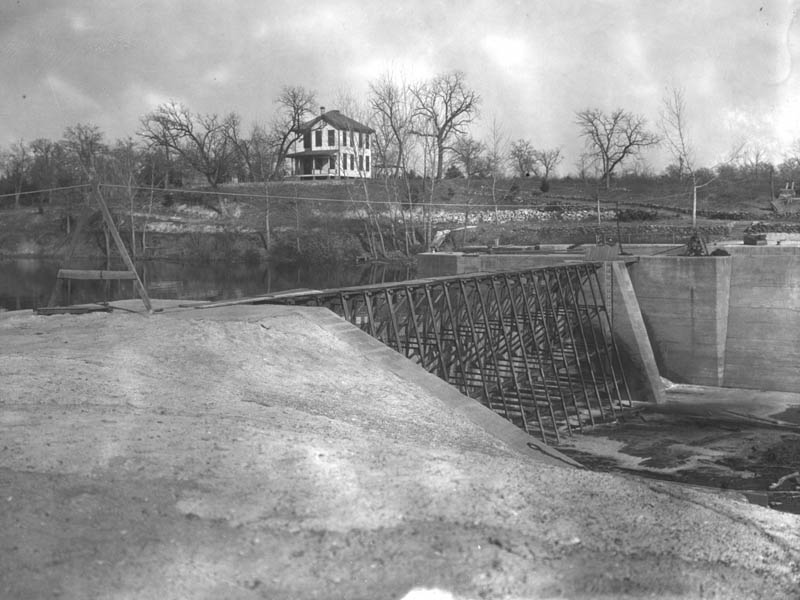 The Lock Keeper's house in 1916.