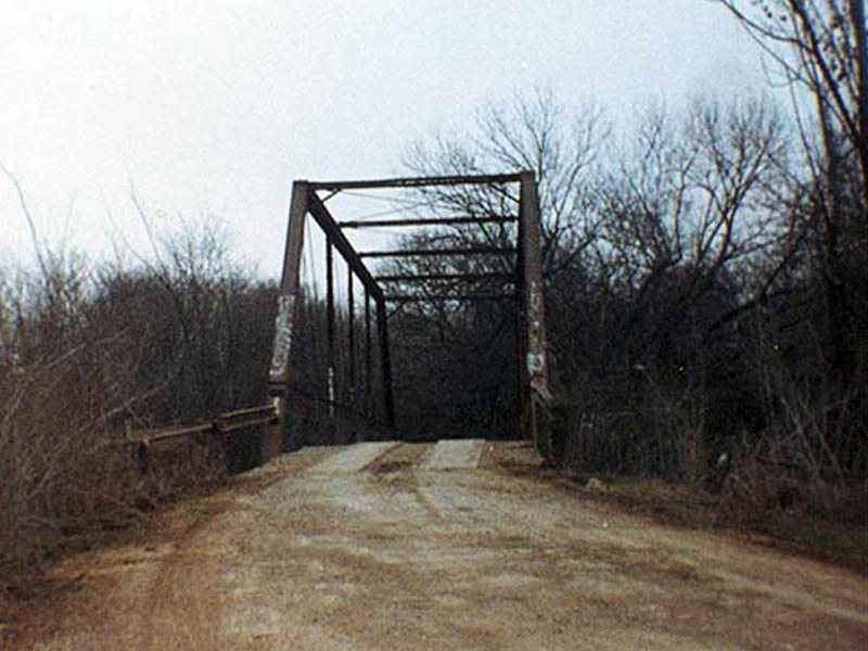 Goatman's Bridge in the 1980's