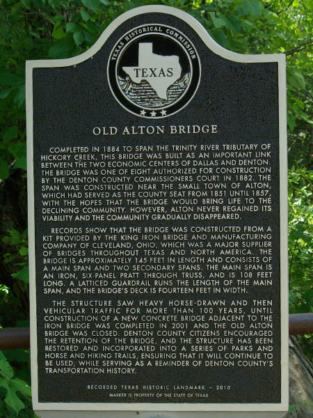 The story of Old Alton Bridge.