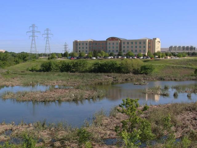 The Hilton Garden Inn
