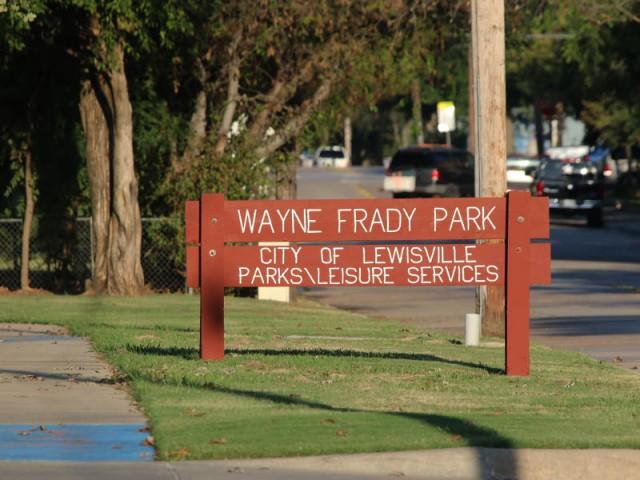 Wayne Frady Park, College Stree, Lewisville, Texas
