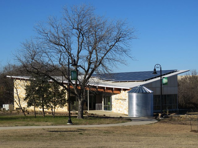The Biodiversity Education Center at Coppell Nature Park.