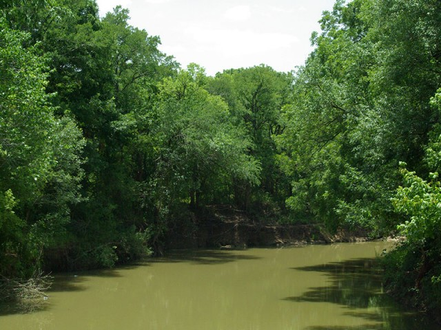 A full Hickory Creek from the same vantage point.