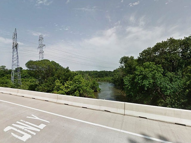 Expansive Elm Fork Bottomlands. Picture from Google Maps.